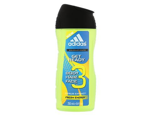 Sprchový gel Adidas Get Ready! For Him 2in1 250 ml