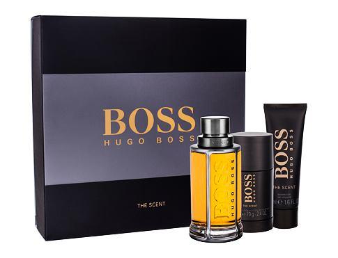 HUGO BOSS Boss The Scent EDT edt 100 ml + sprchový gel 50 ml + deostick 75 ml pro muže