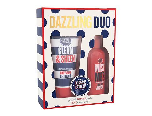 Grace Cole Miss Cole Gleam & Sheen sprchový gel sprchový gel Gleam & Sheen 100 ml + tělová mlha Mist Me? 100 ml pro ženy