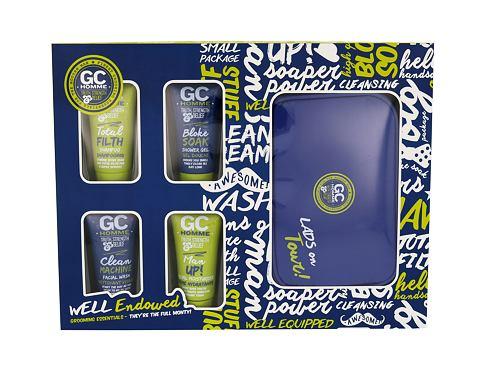 Grace Cole Homme Bloke Soak sprchový gel dárková kazeta pro muže