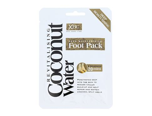 Xpel Coconut Water Deep Moisturising Foot Pack krém na nohy 1 ks pro ženy