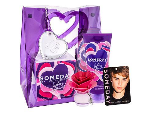 Justin Bieber Someday EDP EDP 30 ml + tělové mléko 200 ml + osvěžovač místnosti pro ženy