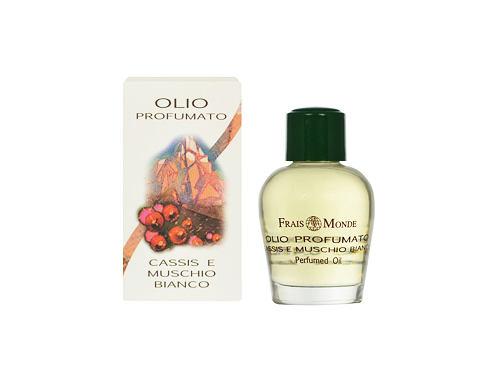 Frais Monde Cassis And White Musk parfémovaný olej 12 ml Poškozená krabička pro ženy