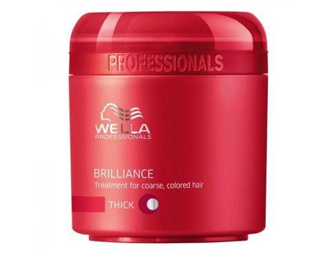 Wella Brilliance Thick Hair maska na vlasy 150 ml pro ženy