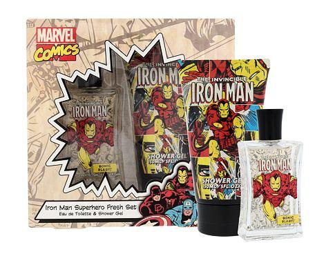 Marvel Comics Iron Man EDT EDT 75 ml + sprchový gel 150 ml Unisex