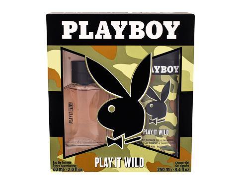 Playboy Play It Wild For Him EDT EDT 60 ml + sprchový gel 250 ml pro muže