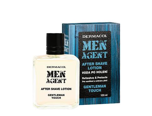 Dermacol Men Agent Gentleman Touch voda po holení 100 ml pro muže