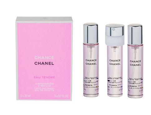 Chanel Chance Eau Tendre EDT 20 ml Poškozená krabička Náplň pro ženy