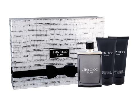 Jimmy Choo Jimmy Choo Man EDT EDT 100 ml + sprchový gel 100 ml + balzám po holení 100 ml pro muže