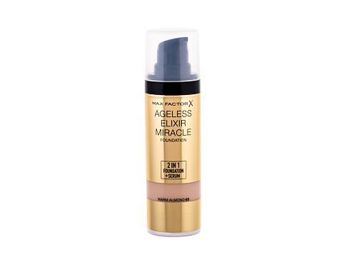 Makeup Max Factor Ageless Elixir 2in1 Foundation + Serum SPF15 30 ml 45 Warm Almond