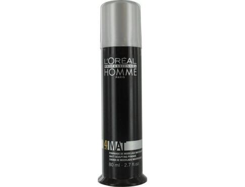 L´Oréal Professionnel Homme Mat gel na vlasy 80 ml pro muže