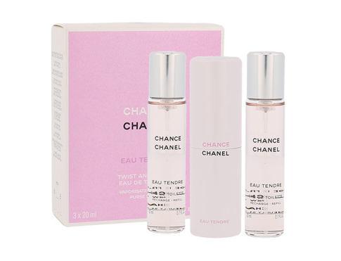 Chanel Chance Eau Tendre EDT 20 ml Poškozená krabička Twist and Spray pro ženy