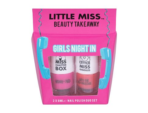 Little Miss Little Miss Beauty Takeaway lak na nehty lak na nehty 8 ml + lak na nehty 8 ml Let´s Ge