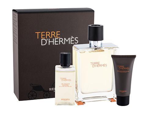 Hermes Terre D´Hermes EDT EDT 100 ml + sprchový gel 40 ml + balzám po holení 15 ml Poškozená krabička pro muže