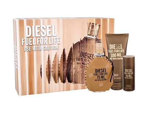 Diesel Fuel For Life Homme EDT EDT 75 ml + sprchový gel 100 ml pro muže