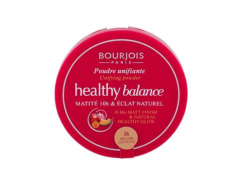 Pudr BOURJOIS Paris Healthy Balance 9 g 56 Light Bronze