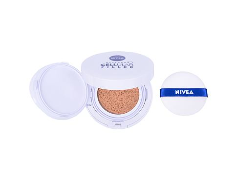 Make-up Nivea Hyaluron CELLular Filler 3in1 Care Cushion SPF15 15 g 02 Medium