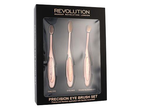 Makeup Revolution London Brushes Precision Eye Brush štětec dárková kazeta pro ženy