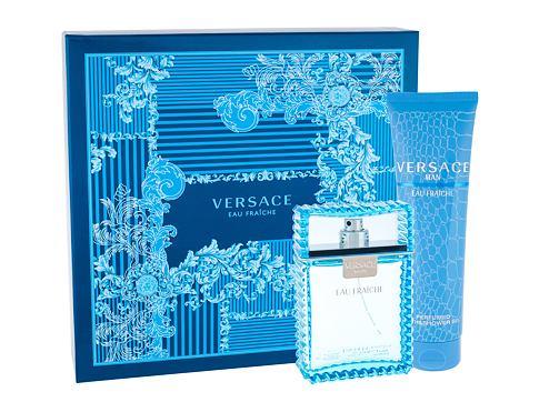 Versace Man Eau Fraiche EDT EDT 100ml + sprchový gel 150 ml pro muže