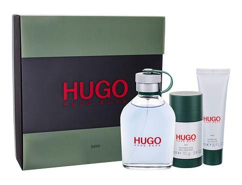 HUGO BOSS Hugo Man EDT EDT 125 ml + sprchový gel 50 ml + deostick 75 ml pro muže
