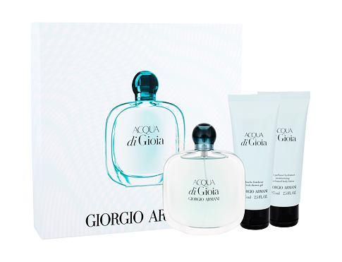 Giorgio Armani Acqua di Gioia EDP EDP 100 ml + tělové mléko 75 ml + sprchový gel 75 ml pro ženy