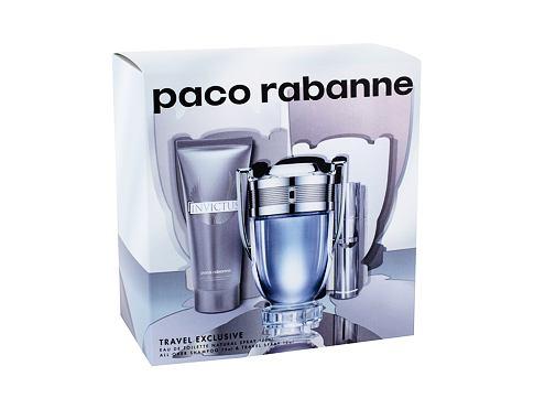 Paco Rabanne Invictus EDT EDT 100 ml + EDT 10 ml + sprchový gel 75 ml pro muže