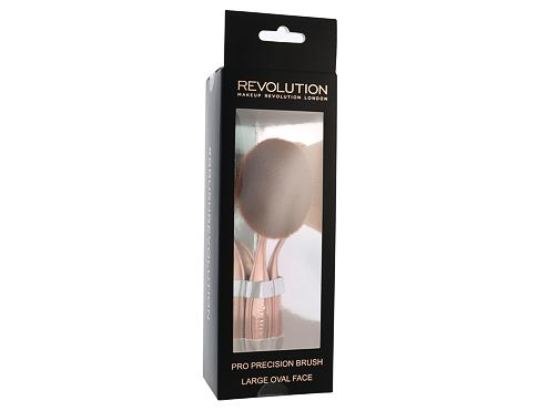 Makeup Revolution London Brushes Pro Precision Brush Large Oval Face štětec 1 ks pro ženy