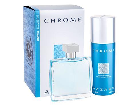 Azzaro Chrome EDT EDT 100 ml + deodorant 150 ml pro muže