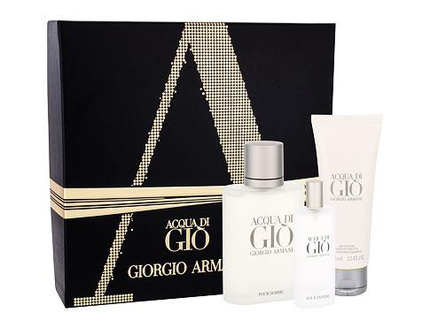 Giorgio Armani Acqua di Gio Pour Homme EDT EDT 100 ml + EDT 15 ml + sprchový gel 75 ml pro muže